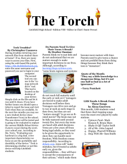 The Torch - Litchfield Public Schools