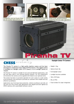 Piranha TV 2013 - Liteye Systems Inc