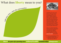 What does liberty mean to you? - The Norman B. Leventhal Map