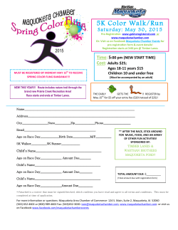 Registration Form - Maquoketa Chamber Of Commerce