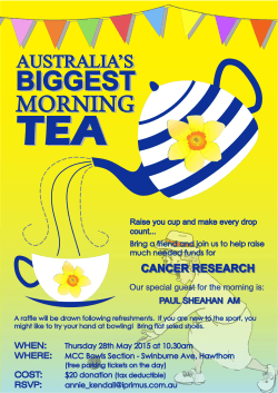 Biggest Morning Tea 2014.ai