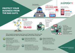 Protect Your Small Business Infographic | Kaspersky Lab
