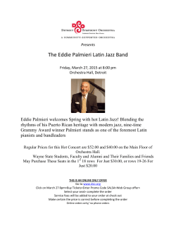 The Eddie Palmieri Latin Jazz Band
