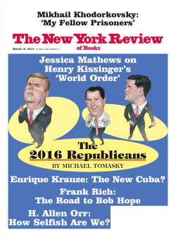 New York Review of Books - 19 March 2015 10.39MB