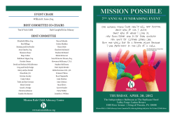 MISSION POSSIBLE - Mission Kids Child Advocacy Center