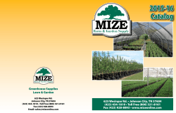 2015-16 Catalog - Mize Greenhouse & Garden Supply | Johnson