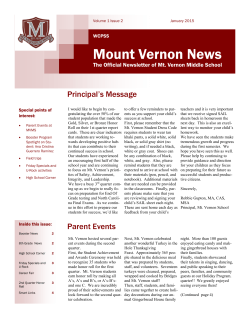 Mount Vernon News 2nd Quarter