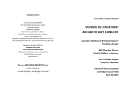 an earth day concert
