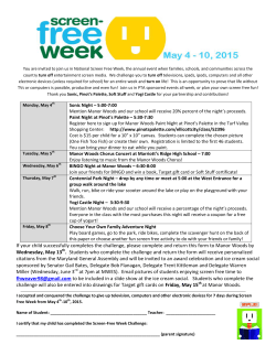 screen free week flyer 2015 final