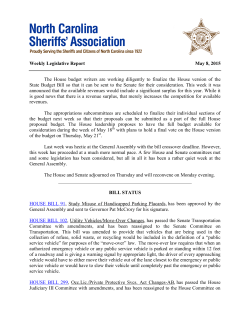 05-08-15 - NC Sheriffs` Association
