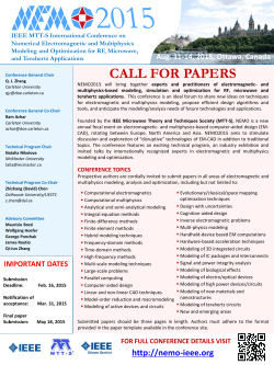 PDF version of Call for Papers