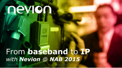 From baseband to IP