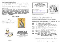 Parish Newsletter 10_05_2015