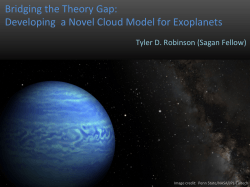 Developing a Novel Cloud Model for Exoplanets