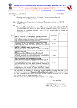 Document - National Institute for Empowerment of Persons with
