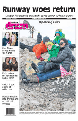 Slip-sliding away - Northern News Services