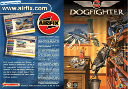 Airfix Dogfighter - Manual