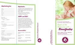 Breastfeeding - Northern Illinois Lactation Consultant Association