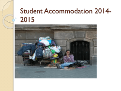 Student accommodation information