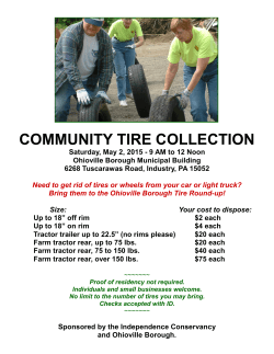 COMMUNITY TIRE COLLECTION
