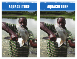 Aquaculture - international relief and development organization