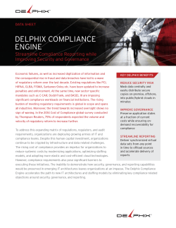 DELPHIX COMPLIANCE ENGINE