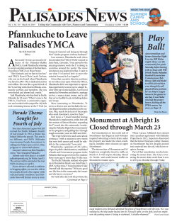 Palisades News March 18, 2015
