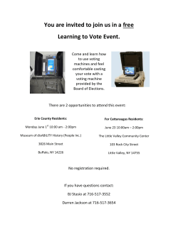 You are invited to join us in a free Learning to Vote Event.