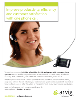 Improve productivity, efficiency and customer satisfaction with one