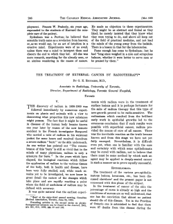 THE discovery of radium in 1898