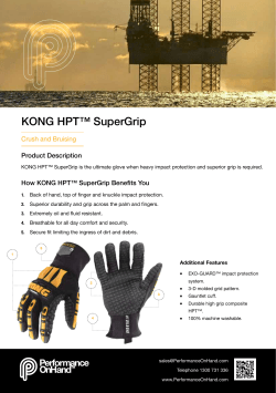 KONG HPT™ SuperGrip
