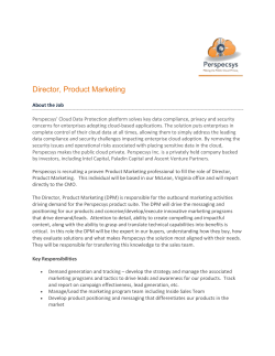 Director, Product Marketing