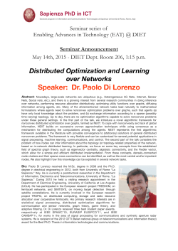 Distributed Optimization and Learning over Networks