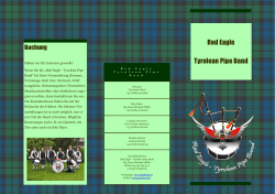 Red Eagle Tyrolean Pipe Band