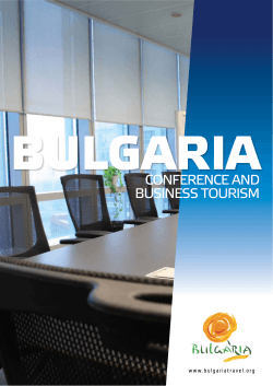 CONFERENCE AND BUSINESS TOURISM