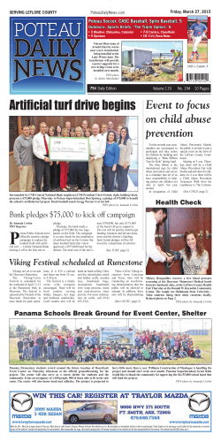 3-27 e-edition - The Poteau Daily News