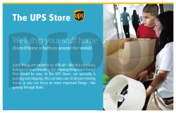 We`ll ship your stuff home