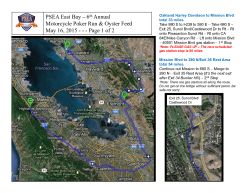 PSEA East Bay – 6th Annual Motorcycle Poker Run & Oyster Feed
