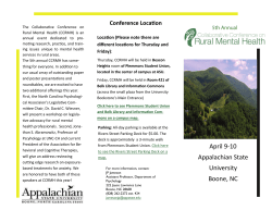 5th Annual Collaborative Conference on Rural Mental Health