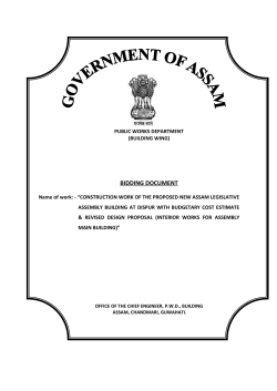 BIDDING DOCUMENT - the e-Tendering System for Government of