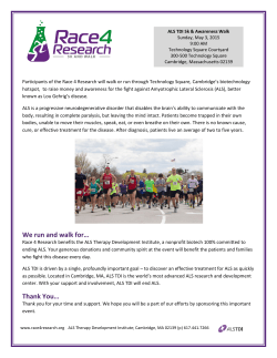 We run and walk for… Thank You… - Race 4 Research