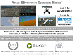 AUVSI 2015 VENOM ADVERT