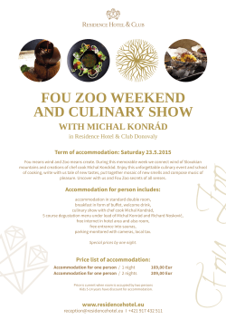 fou zoo weekend and culinary show