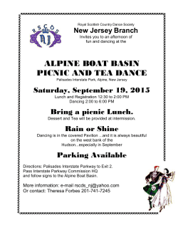 alpine boat basin picnic and tea dance - RSCDS