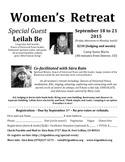 Women`s Retreat - Sufi Ruhaniat International