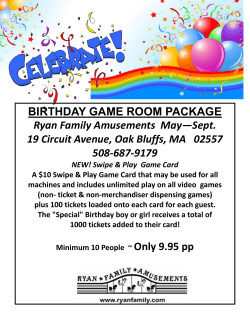 Oak Bluffs Summer Birthday Party Package