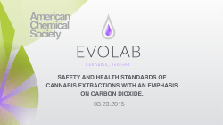 Safety and health standard of cannabis extractions with an