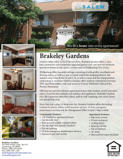 Brakeley Gardens - Salem Management Company