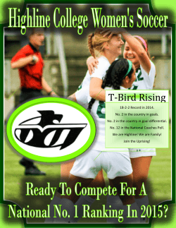 T-Bird Rising - Highline Community College Athletics