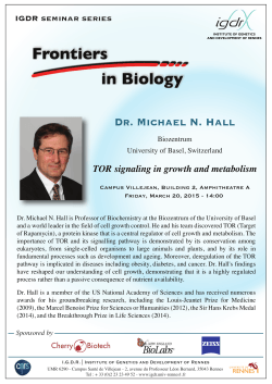 Dr. Michael N. Hall